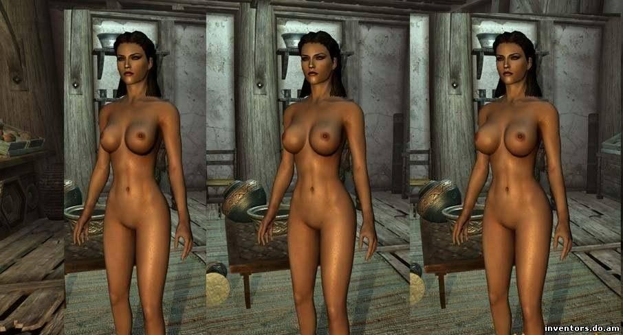 Скачать Моды для TES 5: Skyrim - Мод для увеличения груди у девушек бесплат