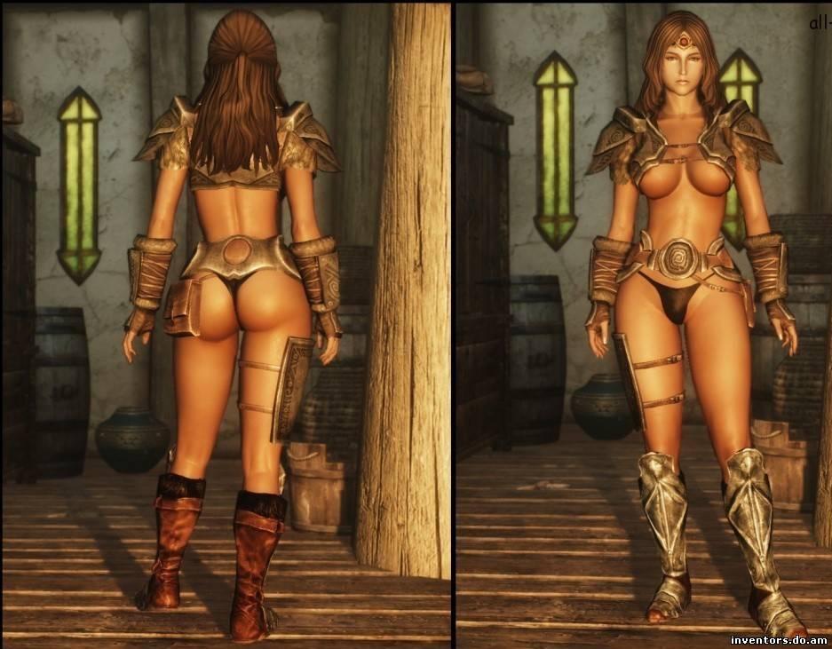 Секс мод к Skyrim произво.